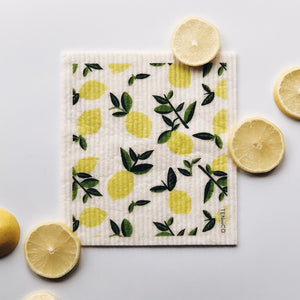 Citrus Lemon Swedish Dish Cloth
