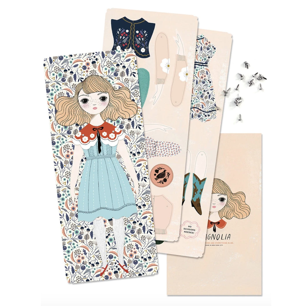 Magnolia - Paper Doll Kit