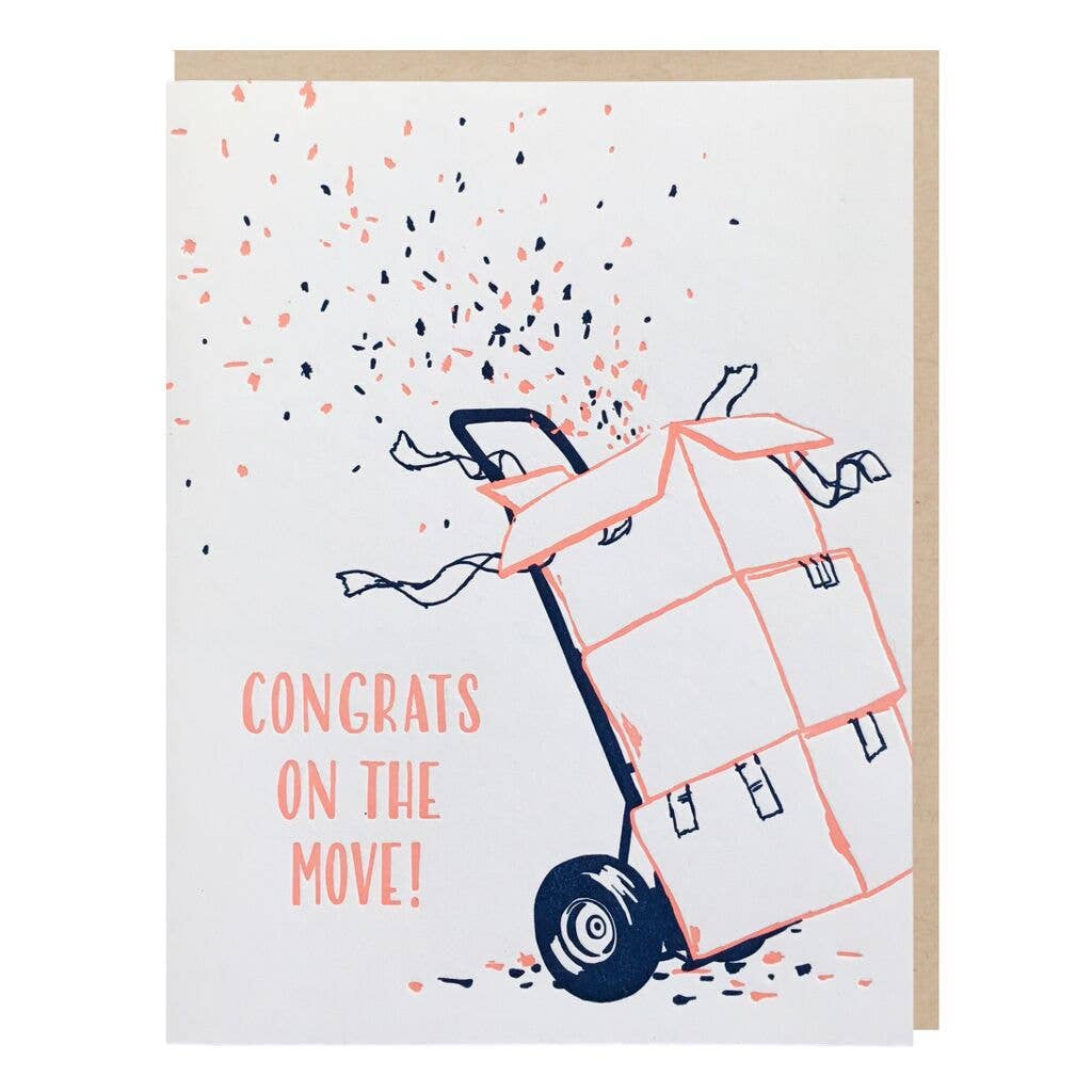 Congrats on the Move Card