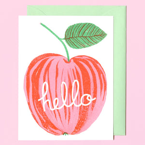 Apple Hello Card