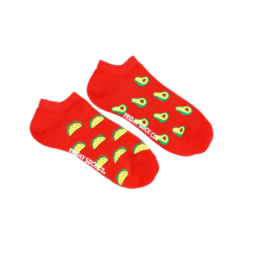 Women's Avocado & Taco Ankle Socks