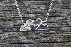 Mount Edith Cavell Necklace