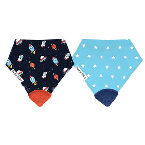 Teething Bib (Blues)