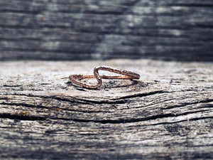 14K Rose Gold-Fill Aurora Ring