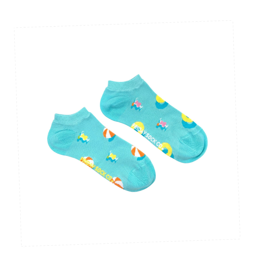 Women's Pool Party Ankle Socks