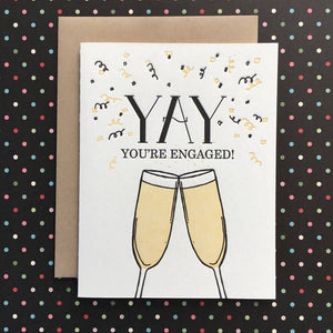 Yay You're Engaged Card