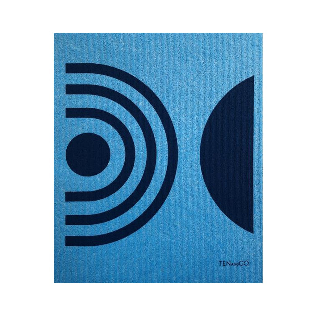 Blue Arc Swedish Dish Cloth
