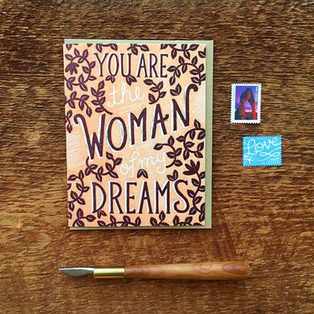 Dream Woman Card