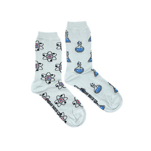 Women's Atom & Beaker Science Socks