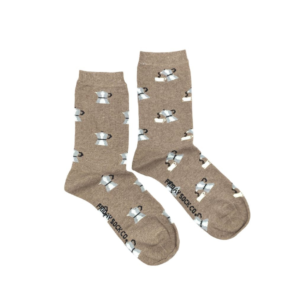 Women's Moka Pot Coffee Socks