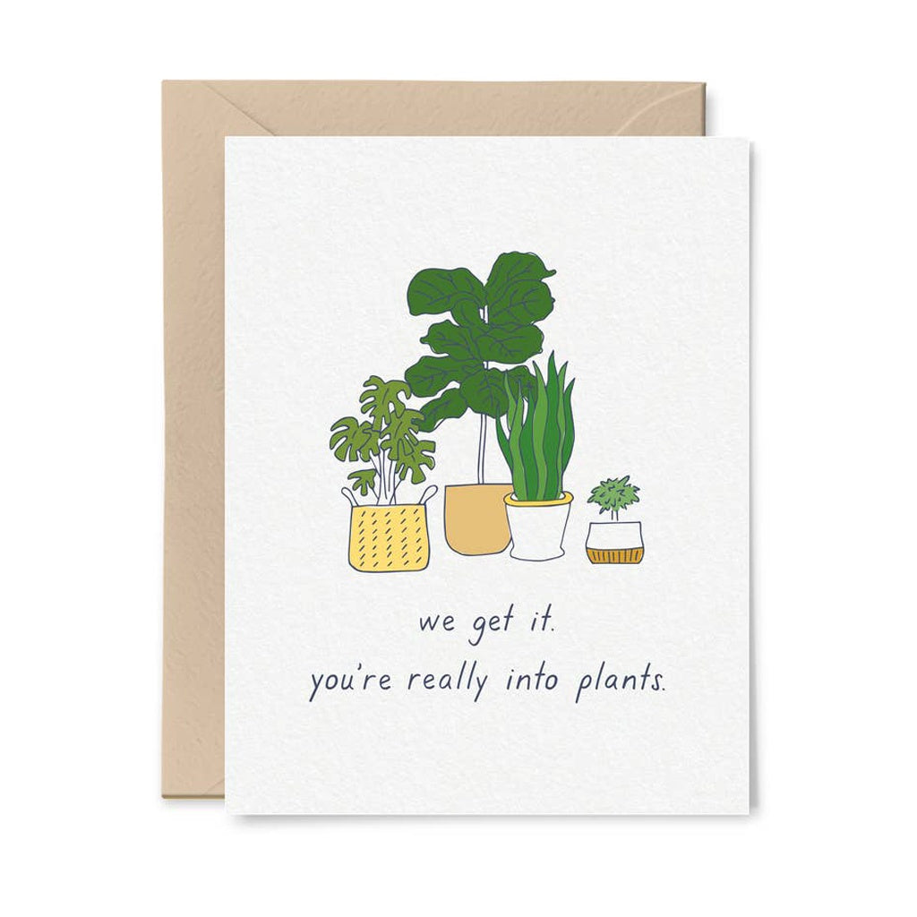 Into Plants Card