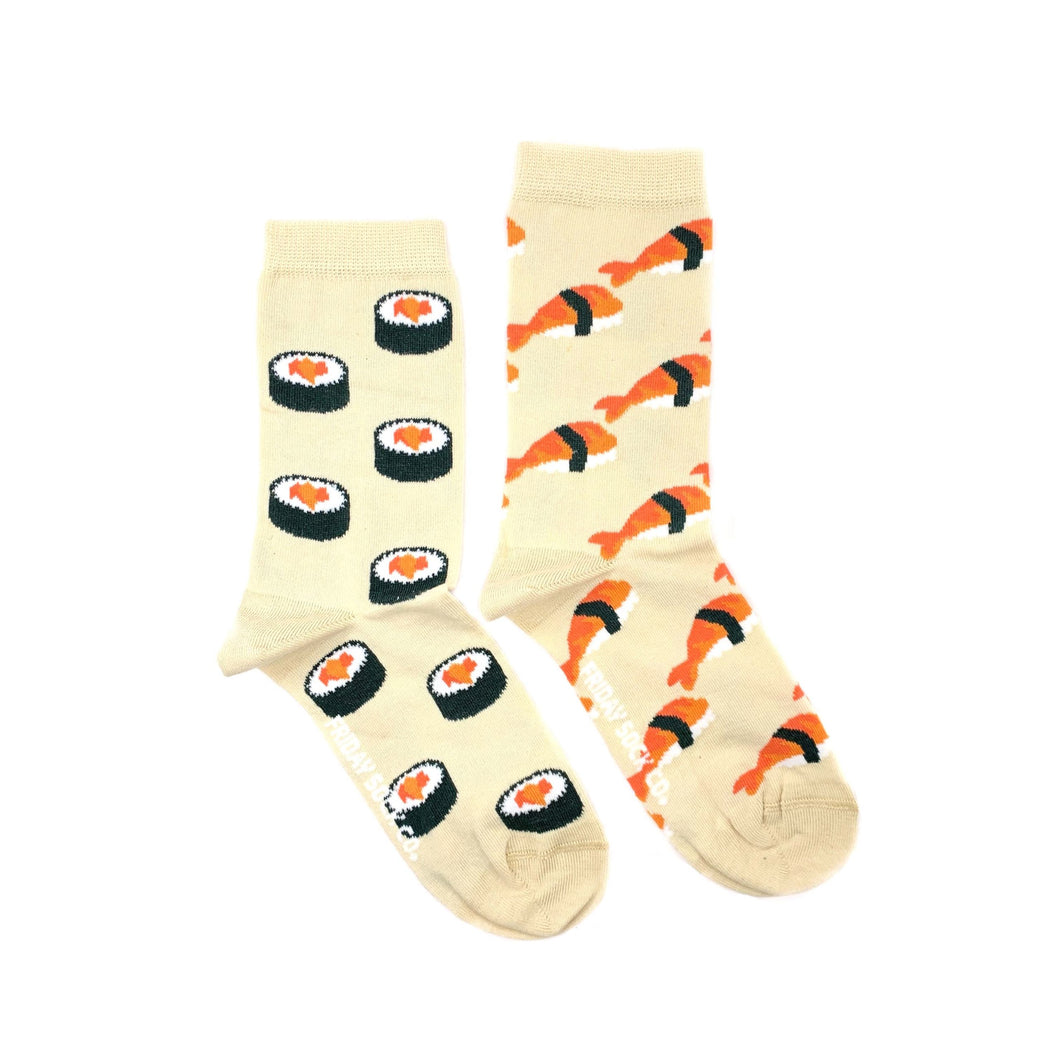 Women's Beige Sushi Socks