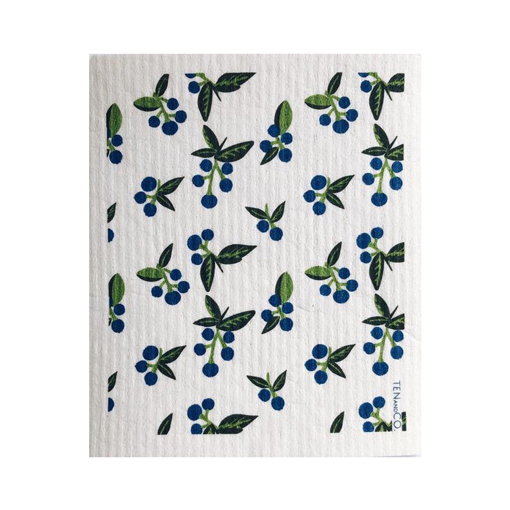 Wild Blueberry Swedish Dish Cloth