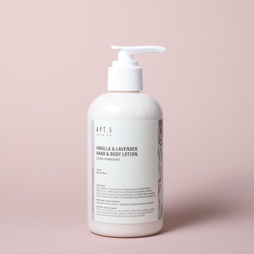 Vanilla Lavender Hand & Body Lotion