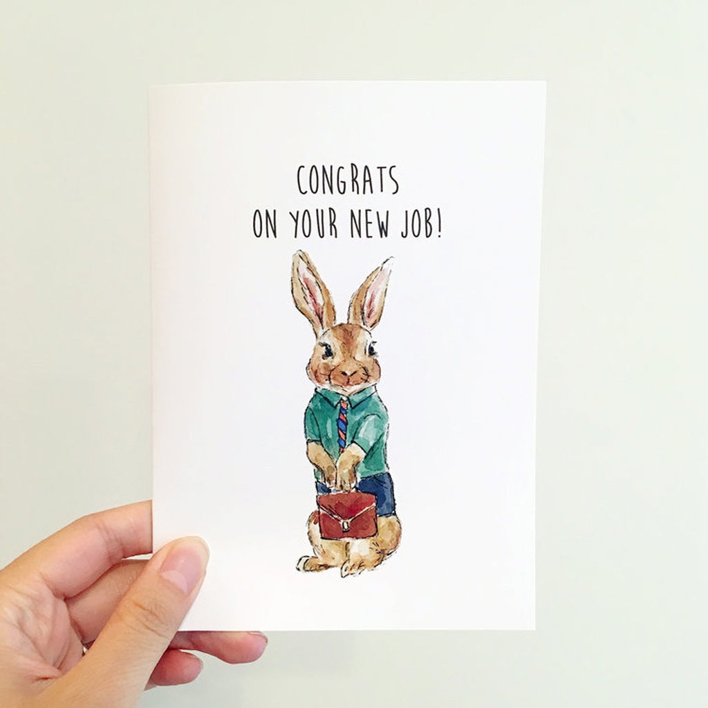 Rabbit New Job Card