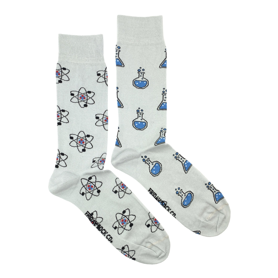 Atom & Beaker Science Socks