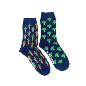 Men's Broccoli & Carrot Veggie Socks