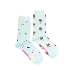 Ice Cream & Sprinkle Crew Socks