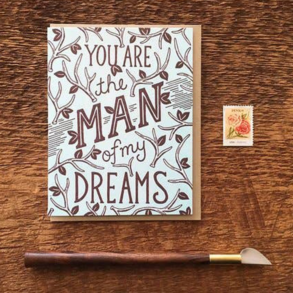 Dream Man Card