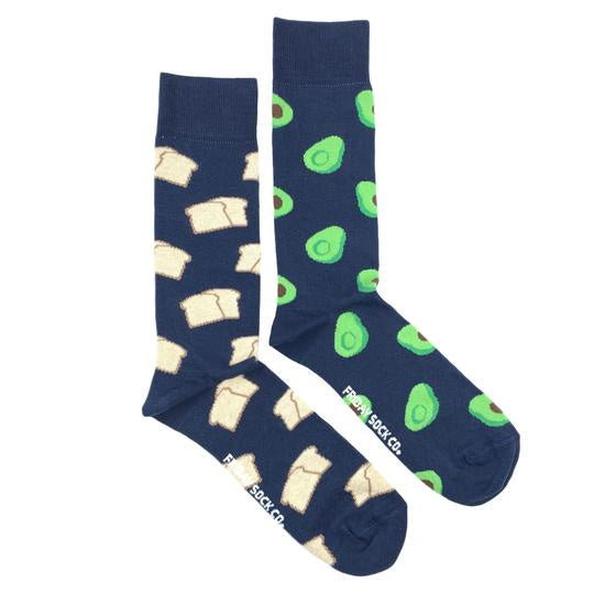 Men's Avocado & Toast Socks