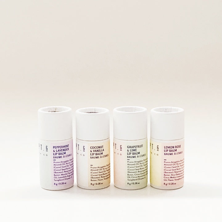Compostable Lip Balms