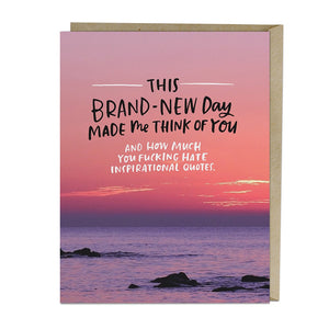 Brand New Day Card