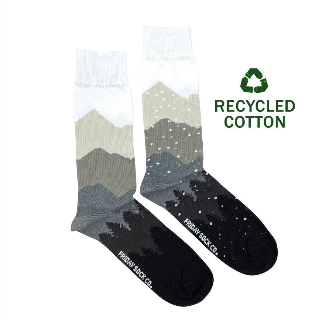 Men's Recycled Cotton Mountain & Snow Socks
