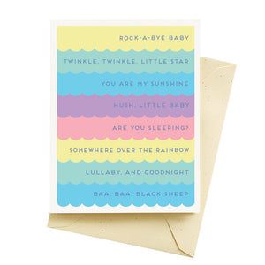 Baby Stripes Card