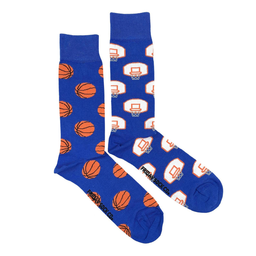 Men's Basketball Net & Basketball Socks