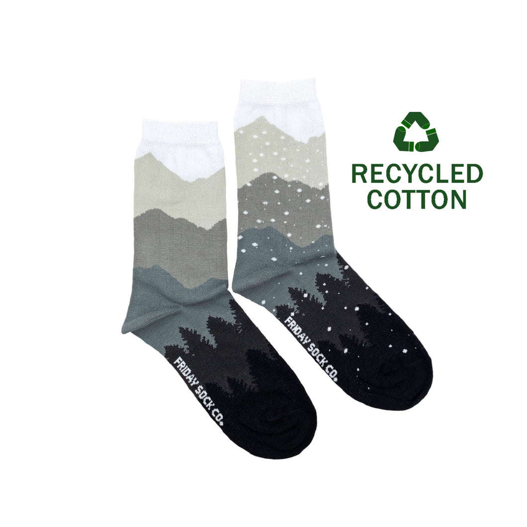 Women's Recycled Cotton Mountain & Snow Socks