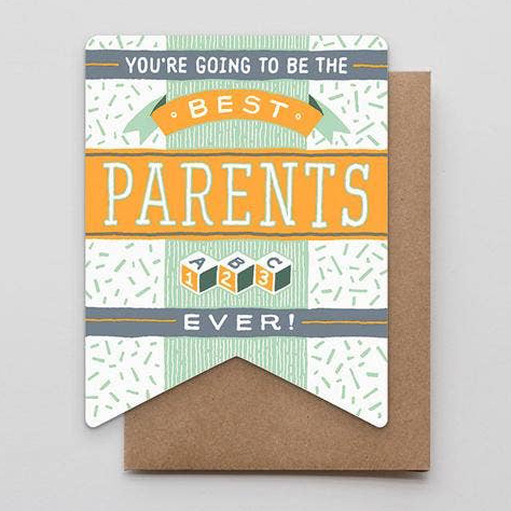 Best Parents Ever Banner Card