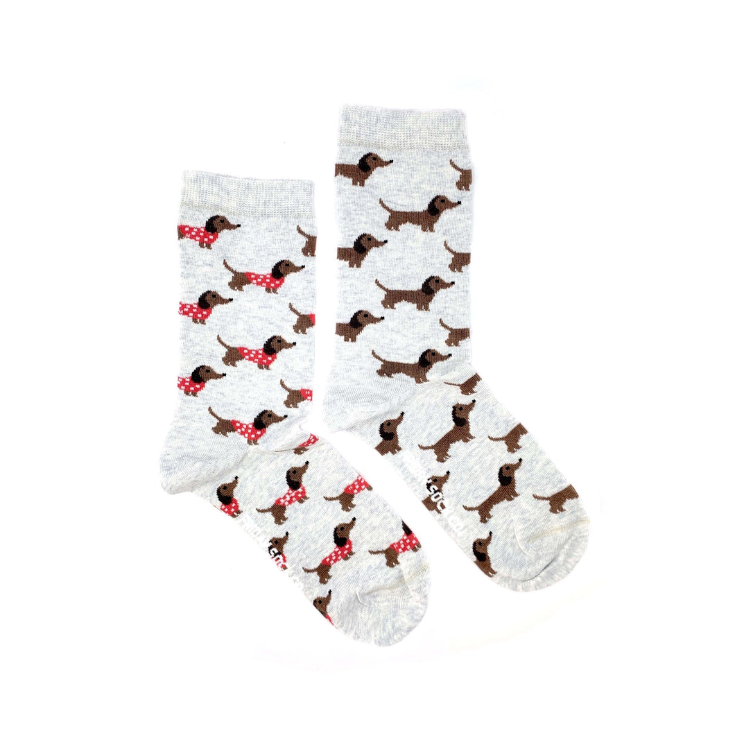 Women's Weiner Dog & Sweater Socks