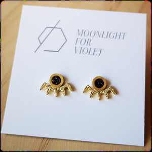 SMALL BATTED LASH FRINGE STUDS