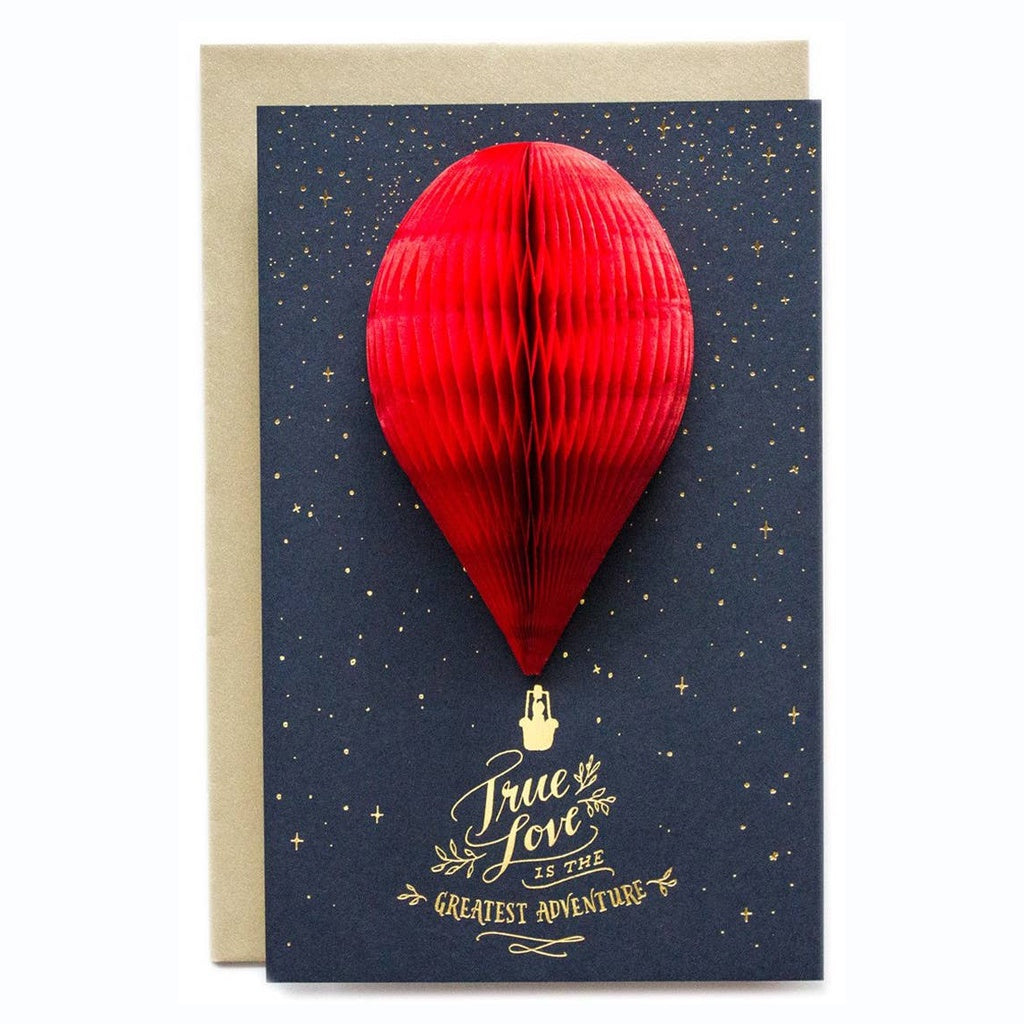 Deluxe True Love Balloon Card