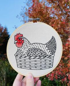Henny Penny Complete Embroidery Kit