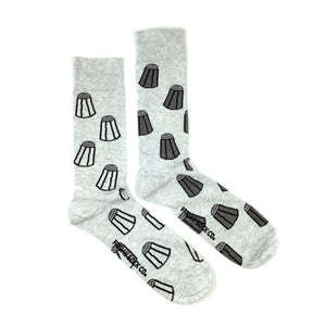 Men's Salt & Pepper Socks