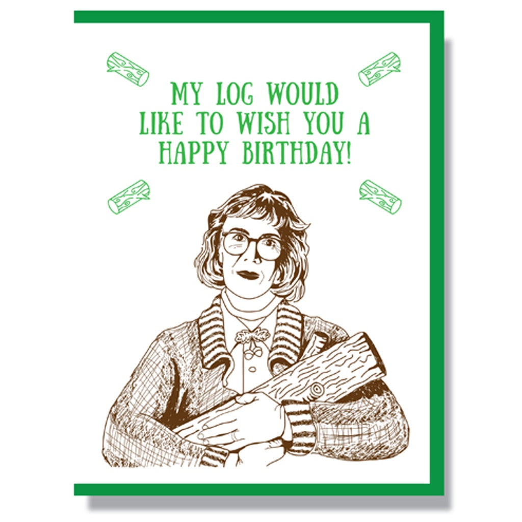 Twin Peaks Birthday Card