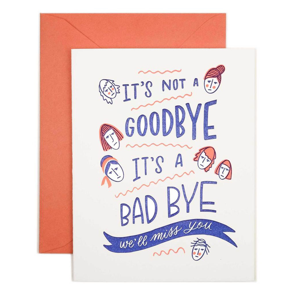 Good Bye Card