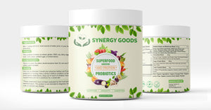 SuperFood Greens And Protein+ Probiotics