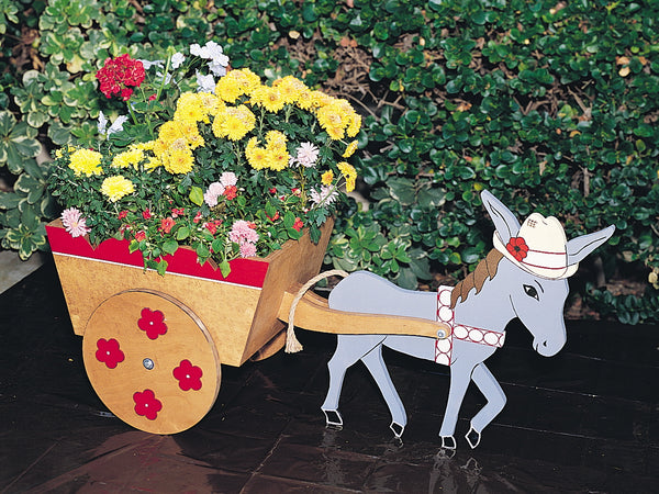 Donkey Cart Planter