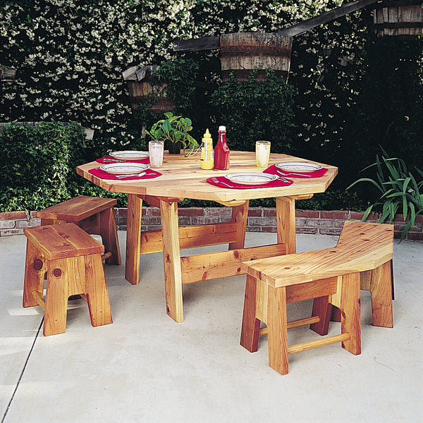 Octagon Picnic Table Set