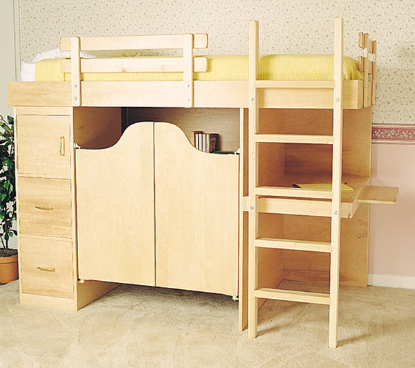 3-in-1 Bunk Bed