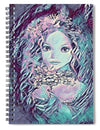 Blue Fairy Princess - Spiral Notebook
