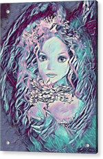 Blue Fairy Princess - Acrylic Print