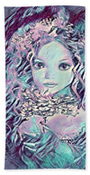 Blue Fairy Princess - Beach Towel