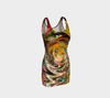 Whirlwind Abstract Dress