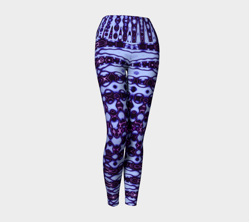 Purple Murple Yoga Leggings