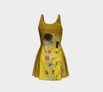 Kiss by Auguste Klimt Dress