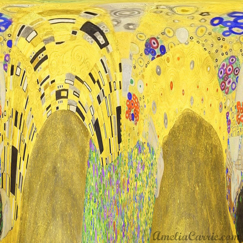 Abstract Influenced by Gustav Klimt