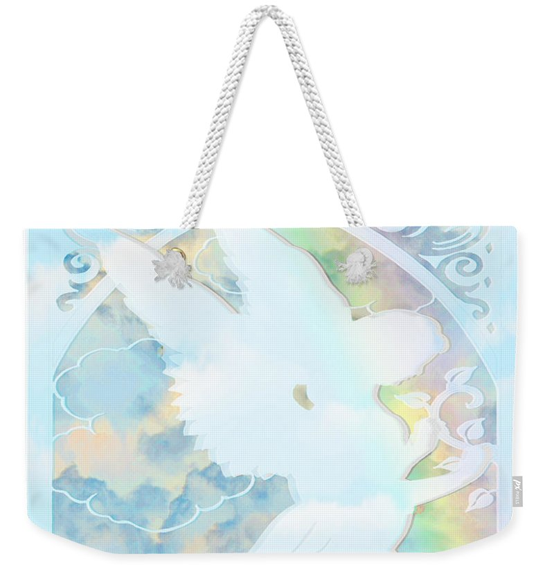 Angel Silhouette - Weekender Tote Bag